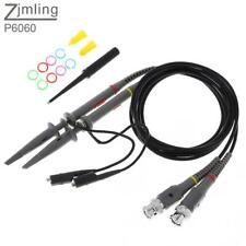 2pcs P6060 Oscilloscope  Probe Kit 60MHz 1X for Electronic Measuring Instruments