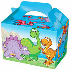 20 Dinosaur Party Boxes - Food Loot Lunch Cardboard Gift Kids