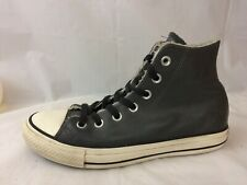 4d46c19ba425 Converse All Star Boys 5 Youth Chuck Taylor Gray Leather High Top Shoes  Lined