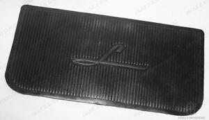 1949 1950 1951 Lincoln Rubber Heel Pad for Carpet as Original in Black