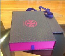"5 x Tory Burch logo medium gift bag box storage bag 14""L x 3.5""H x 11""W"