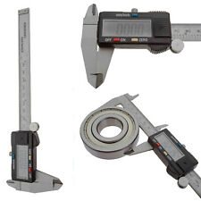 """Durable 6"""" Digital LCD Vernier Caliper Stainless Electronic Measurement Tools"""