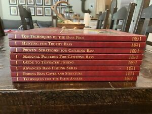 BASS Ultimate Bass Fishing Library Book Collection