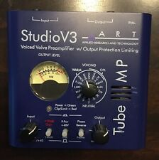 ART Tube MP Studio V3 Microphone & Instrument Preamp and Limiter with Presets