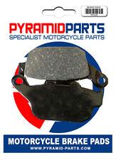 Triumph 675 Daytona Triple (Rad.cal) 09-12 Pastillas De Freno Trasero