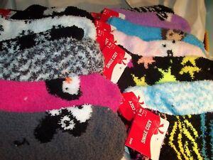 Women's COZIES  Cozy fuzzy Socks   Animals - New (#360)