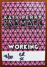 KATY PERRY ~ PRISMATIC WORLD TOUR ~ Backstage Pass - Soft Patch