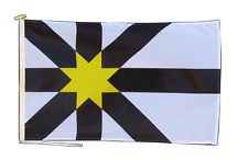 More details for sutherland cataibh flag with rope and toggle - various sizes