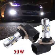 LED Fog Light CREE 50W High Power Bulbs - 881- DRL Daytime Lights 6000K White