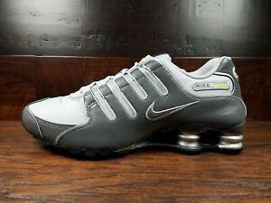 Nike SHOX NZ EU (Dark Grey / Wolf Grey /Volt) NSW [378341-009] Mens 7.5-14