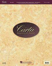 No. 26 Carta Score Paper Carta Manuscript Paper Sheet Music NEW 000210078