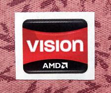 AMD Vision Sticker 16.5 x 19.5mm APU Case Badge A4 A6 A8 A10 E1 E2 USA Seller