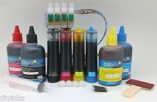 Continuous Ink System and Bottle Set for Epson Workforce 40 600 610 NX510 NX51