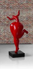 Bildliche SCULTURA/Statua del ballo Women Donna Figura rosso viola o oro