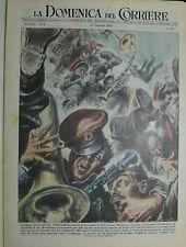 """"""" LA DOMENICA DEL CORRIERE N°08/ 22.FEB.1953 - ANNO 55 """""""