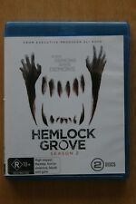 Hemlock Grove : Season 2 (Blu-ray, 2015, 2-Disc Set     Preowned (D219)