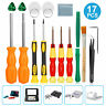 17in1 Repair Full Screwdriver Tool Kit For Nintendo Switch GBA SNES NES Wii NDS