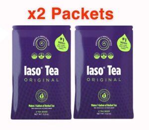 TLC Iaso Original Detox & Weight Loss Aid Tea *2 sachets for TWO week's supply