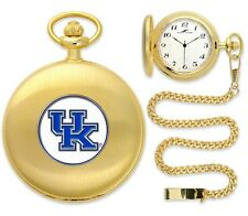 Kentucky Wildcats Officially Licensed Gold Pocket Watch