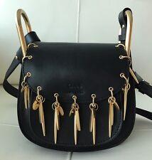 CHLOE Hudson Charm Mini Bag in Black 100% Authentic!!! MSRP $2,280