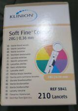 Klinion Soft Fine Colour Lanzetten 30 G 210 St 05103495
