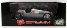 Voiture de courses miniatures gris Brumm