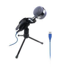 Professional USB Studio Condenser Recording Microphone Mic w/ Desktop Tripod