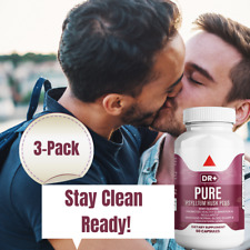 Colon Cleanse & Stay Clean with Psyllium Husk Compare to Pure for Men - 3-Pack