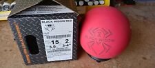 NEW Rare Overseas 15LB  Hammer Black Widow Red Bowling Ball 1060