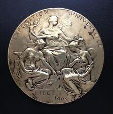 ROYAUME DE BELGIQUE / Bronze Medal / EXPOSITION UNIVERSELLE LIEGE 1905  / M61