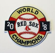 (1) WORLD SERIES 2018 BOSTON RED SOCKS EMBROIDERED BASEBALL PATCH ITEM # 42