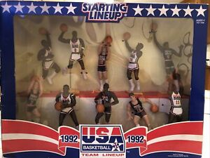 1992 Starting Lineup Kenner USA Olympic Basketball Dream Team Set Vintage Jordan