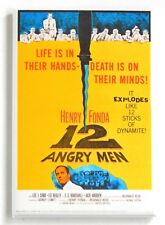 12 Angry Men FRIDGE MAGNET (2 x 3 inches) movie poster