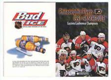 1997-98 Philadelphia Flyers NHL Pocket Hockey Schedule