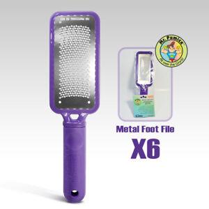 Mr. Pumice Metal Foot File - Purple Large x 6pc
