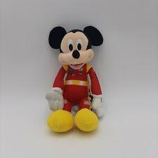 Disney Mickey Mouse Race Car Driver Racer Stuffed Animal Plush Toy
