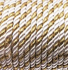 Kordel Dekorative Schnur 5mm Schmuckschnur  Dekoband Seil  3 oder 10 Meter *