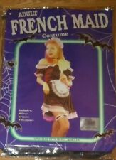Cheap Fancy Dress Halloween Sexy French Maid Costume