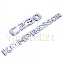99-05 Mercedes Benz C230 Kompressor Trunk Emblem Nameplate Badge OEM Rear W202