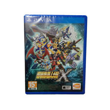 SUPER ROBOT WARS X PlayStation PSV 2018 Chinese Factory Sealed