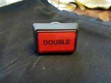 "Video slot machine button,  ""Double"""