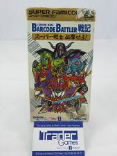 Conveni Wars Barcode Battler Senki, Super Famicom, Japanese, Complete