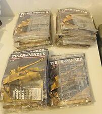 Hachette Tiger Panzer Modell Bausatz große Sammlung 47 Ausgaben Tank