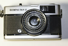 "Olympus ""Trip 35"" Compact 35mm With 40mm f2,8 Lens & Solar Powered Meter WORKS"