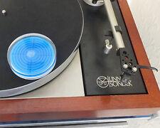 "One 3"" Diameter Turntable Spirit Level Blue Fluid. Posted 1st Class UK"
