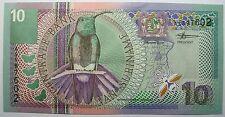 - Très beau billet - SURINAM - 10 Gulden - 2000 - Neuf -