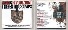 2 Cd GIOIA & RIVOLUZIONE The best of cramps NUOVO Edel 2003 Area Arti & Mestieri