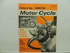 April 1964 The Motorcycle Magazine BSA Lambretta Cento Honda L10895