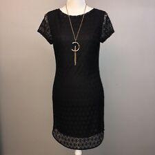 Black Frenzee Lace Dress Size Large