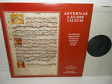 Alpha ACA 546 Aeternae Laudis Lilium Taverner Byrd Tomkins Tallis Sheppard